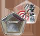 五角形缶バッジのアイテム写真
